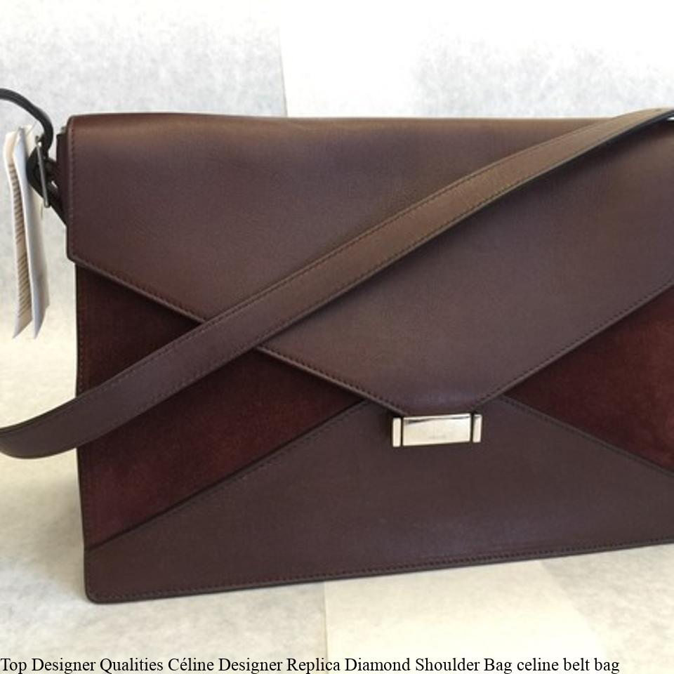 Top Designer Qualities Céline Designer Replica Diamond Shoulder Bag celine  belt bag f75b3fcaae624