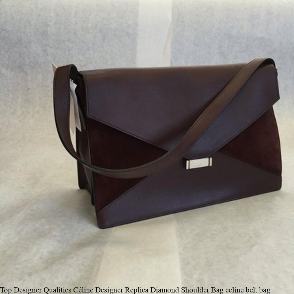 Top Designer Qualities Céline Designer Replica Diamond Shoulder Bag celine  belt bag – Replica Designer Handbags 2abd8ceb73374